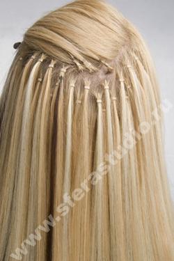 Наращивание волос японское